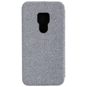 COMMANDER Book Case CURVE für Huawei Mate 20 - Suit Elegant Gray