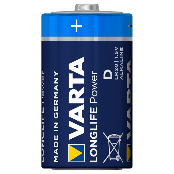 Varta Batterie Longlife Power D Mono 4920 - 2er-Blister