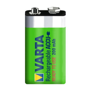 Varta Akku Rechargeable Accu Accu 9V E-Block Ready 2 Use NiMH 200mAh 56722