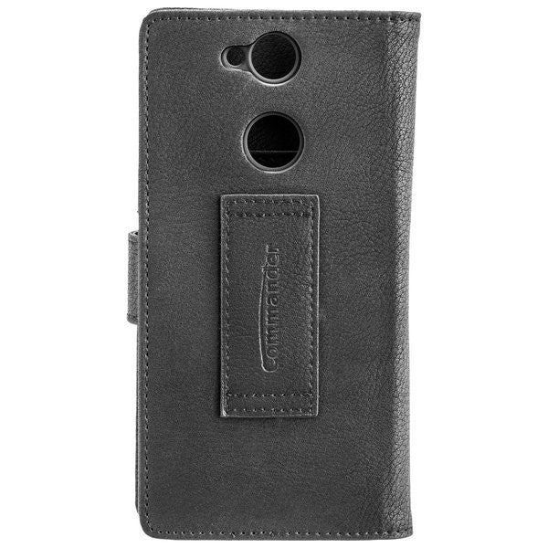 COMMANDER BOOK CASE ELITE für Sony Xperia XA2 - Black