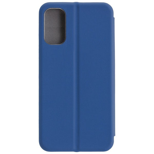 COMMANDER Book Case CURVE für Samsung Galaxy S10 Lite - Soft Touch - Maritim Blue