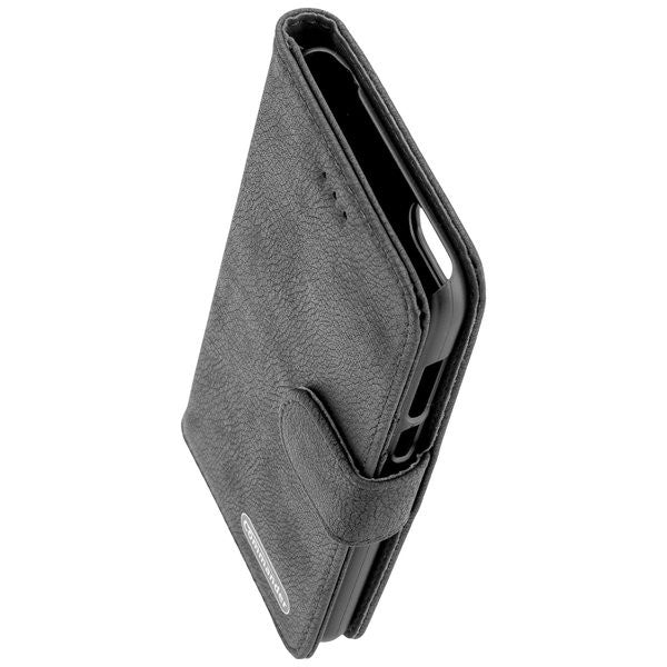COMMANDER BOOK CASE ELITE für Huawei Y5 2018 - Black