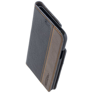 COMMANDER BOOK CASE für Apple iPhone X / XS - Gentle Black