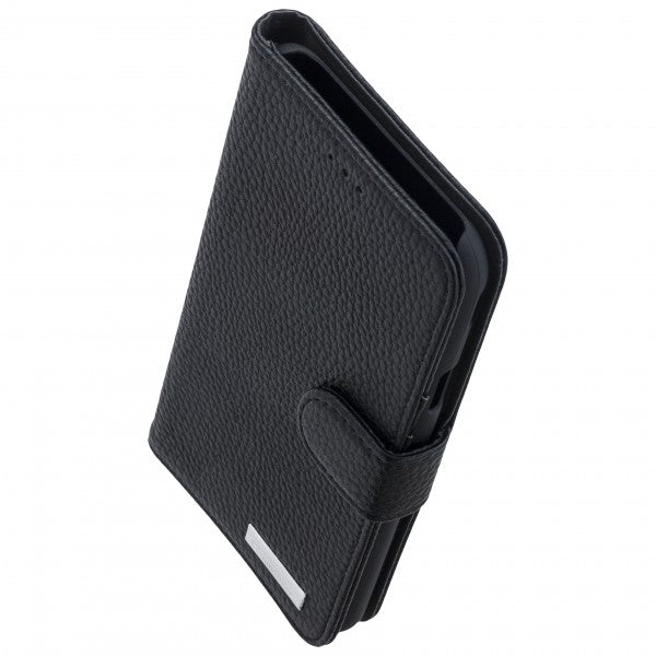 COMMANDER BOOK CASE ELITE für Samsung Galaxy J7 (2017) - Black
