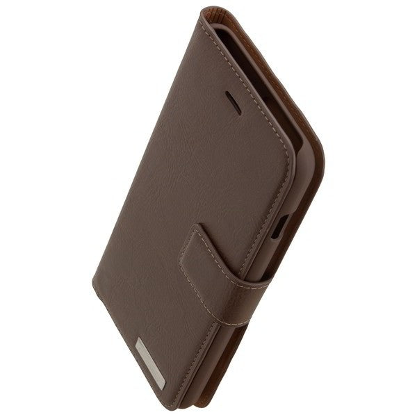 COMMANDER Book & Cover für Apple iPhone 7 Plus / iPhone 8 Plus - Vintage Brown