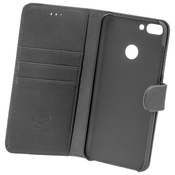 COMMANDER BOOK CASE ELITE für Huawei P Smart - Black