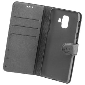 COMMANDER BOOK CASE ELITE für Samsung Galaxy A6 - Black