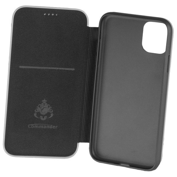 COMMANDER BOOK CASE ELEGANT für Apple iPhone 11 - Black