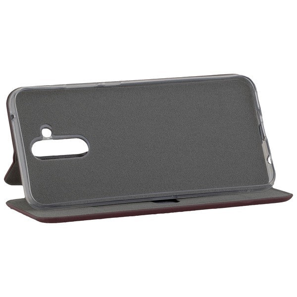 COMMANDER Book Case CURVE für Huawei Mate 20 Lite - Soft Touch - Bordeaux
