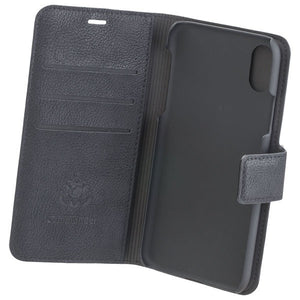 COMMANDER Book & Cover für Apple iPhone X / XS - Black