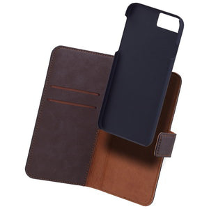 COMMANDER Book & Cover für Apple iPhone 7 / iPhone 8 - Vintage Brown