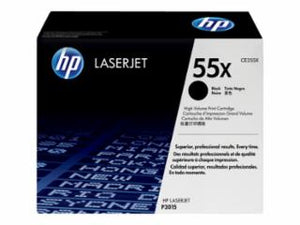 HP Black Toner Cartridge CE255X - OEM