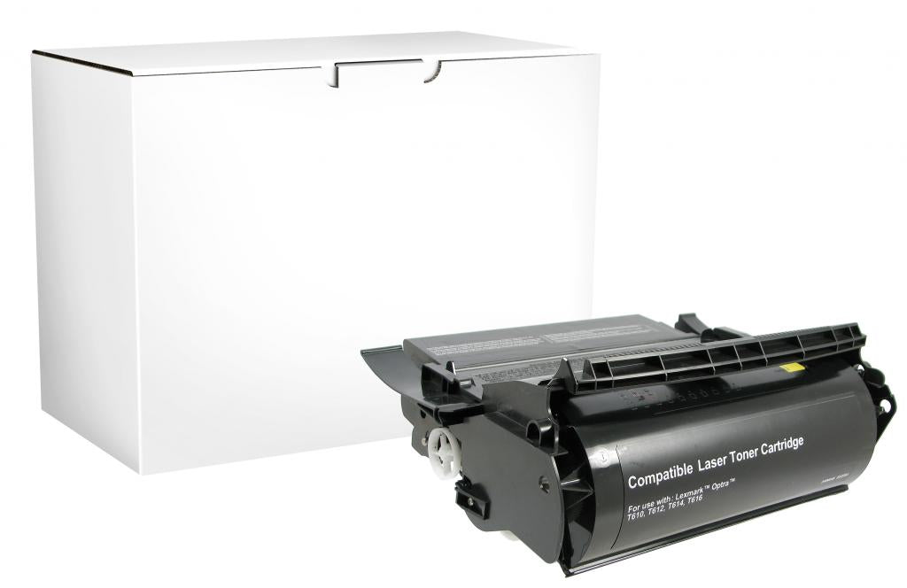High Yield Toner Cartridge for Lexmark Compliant T610/T612/T614/T616