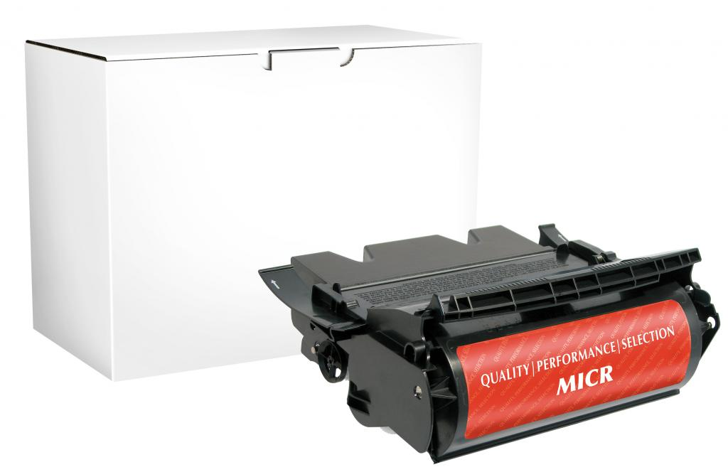 Extra High Yield MICR Toner Cartridge for Lexmark T644/X644/X646