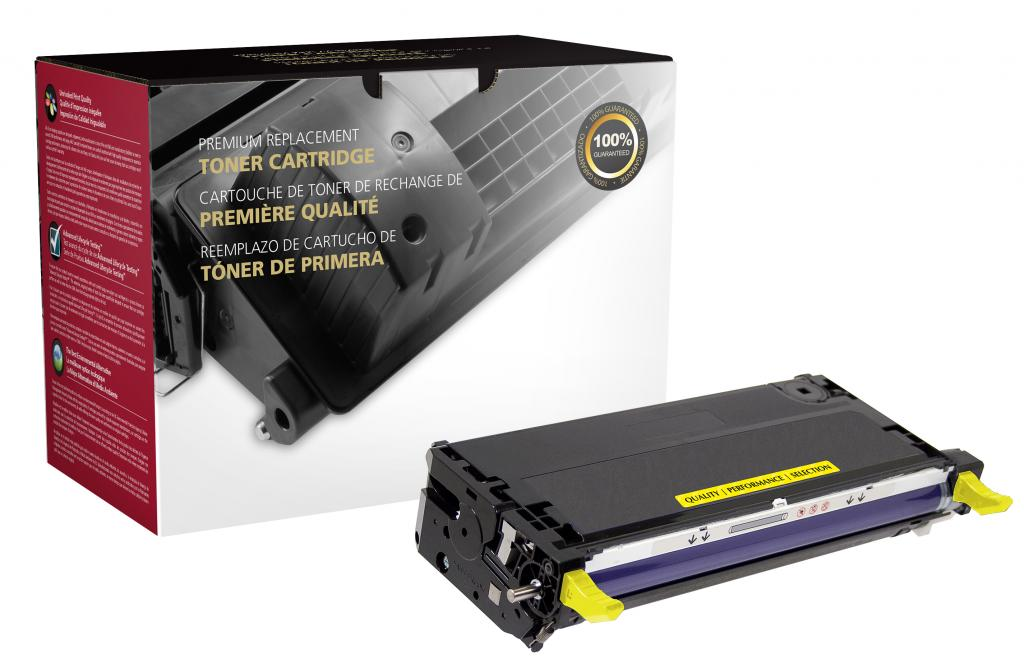 High Yield Yellow Toner Cartridge for Xerox 113R00725