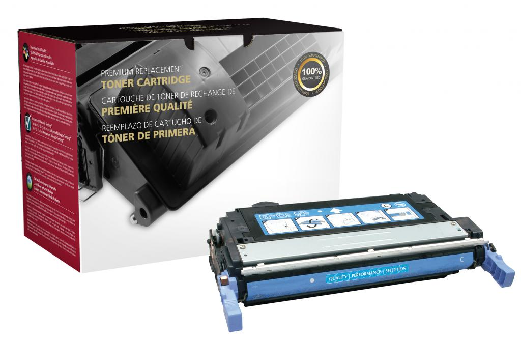 Cyan Toner Cartridge for HP Q6461A (HP 644A)