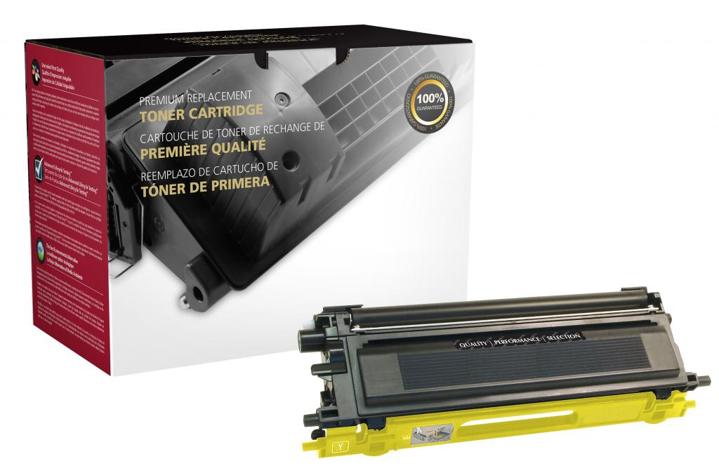 Yellow Toner Cartridge for Brother TN110
