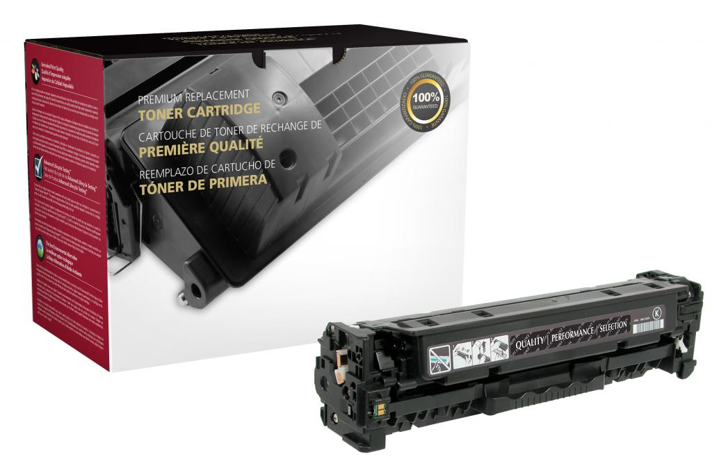 Black Toner Cartridge for HP CE410A (HP 305A)