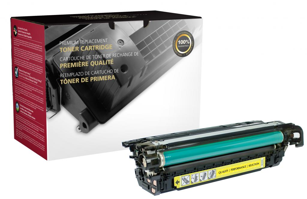 Yellow Toner Cartridge for HP CF332A (HP 654A)