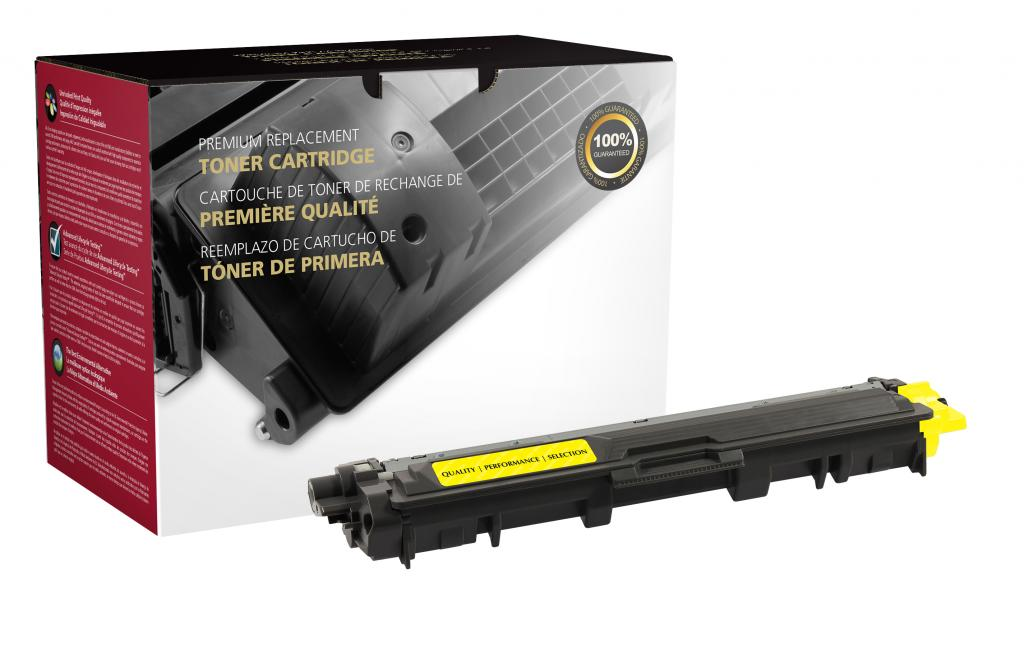 Yellow Toner Cartridge for Brother TN221