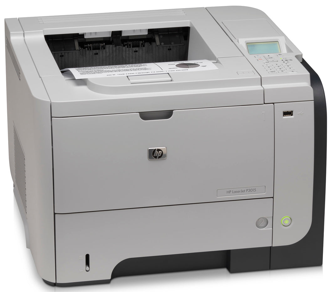 HP LaserJet P3015DN Printer + Toner CE528A