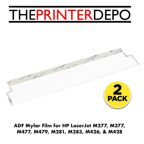 HP Color LaserJet ADF Mylar Replacement Film for M277, M377, M477, M426, M428, M479, M281, & M283
