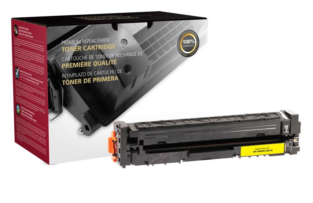 HP CF402X (201X) High Yield Yellow Toner Cartridge