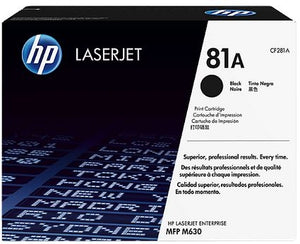 HP Black Toner Cartridge CF281A- OEM