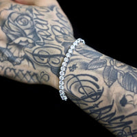 5mm White Gold Tennis Bracelet