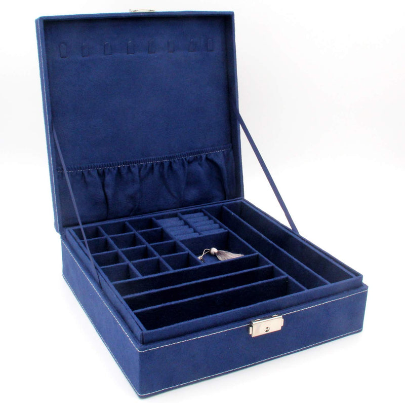 Medium Size Signature Jewelry Organizer - Blue