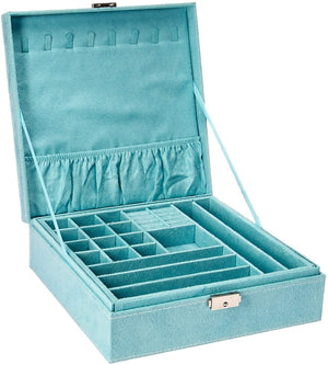 Medium Size Signature Jewelry Organizer - Light Blue