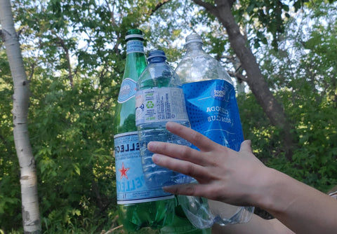 #1 Plastic Polyethylene terephthalate (PET) what it is recycled into