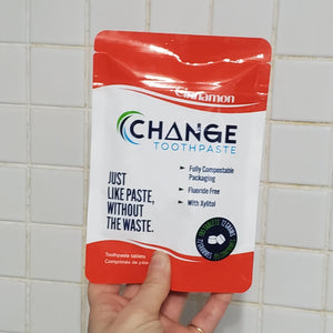 Change Toothpaste Tablets - 3 month packs - Earth Warrior Lifestyle