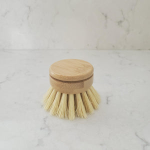 Dish Scrubber - Replacement Head  for long handle brush - Earth Warrior Lifestyle