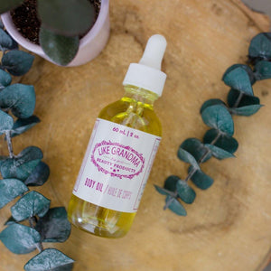 Body Oil - Earth Warrior Lifestyle