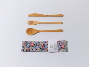 Garden Blooms Cutlery Kit - Small