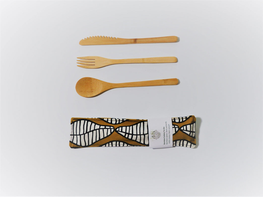 Abstract Afternoons Cutlery Kit - Small