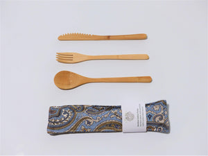 Paisley Cutlery Kit - Small