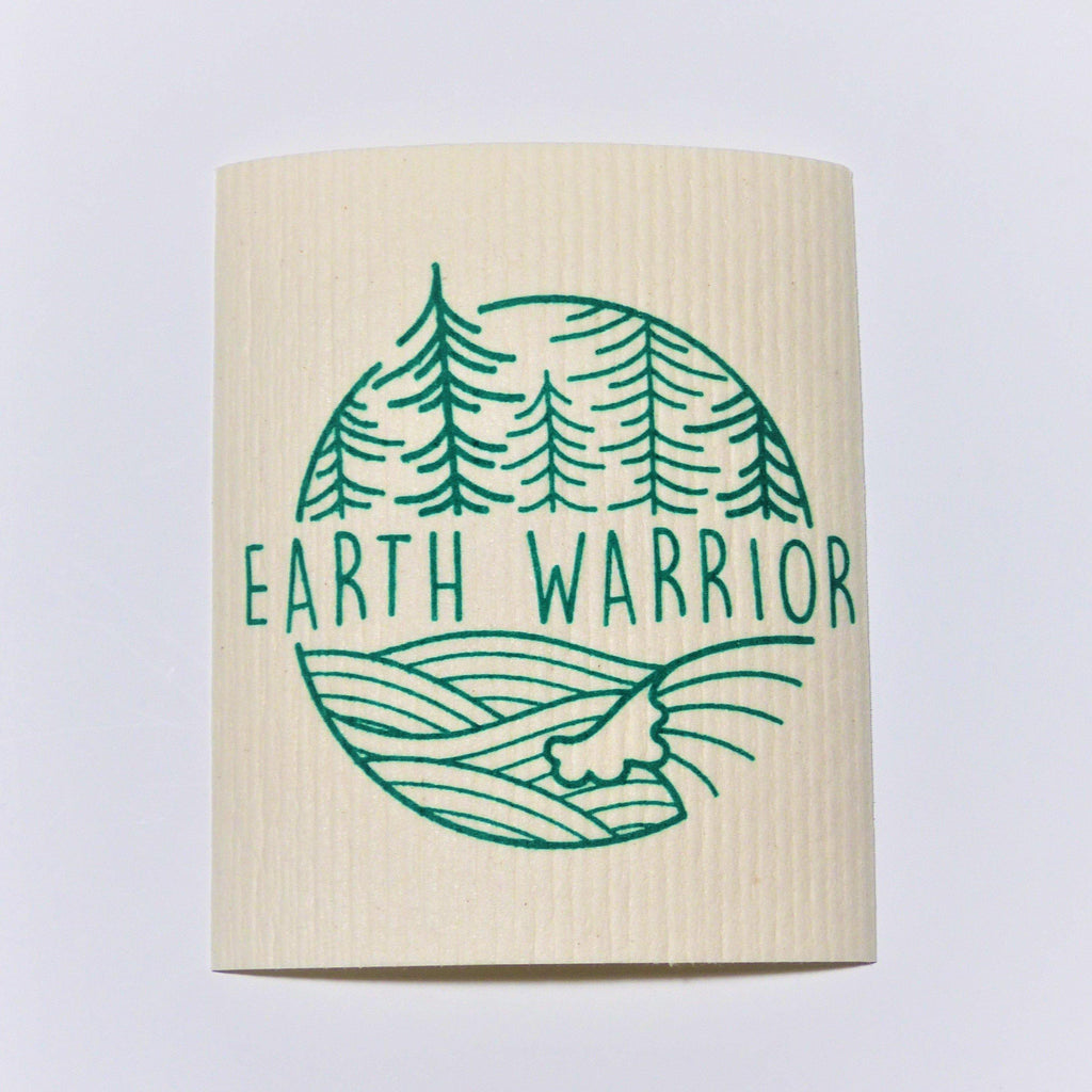 Swedish Dishcloth - Earth Warrior - Earth Warrior Lifestyle