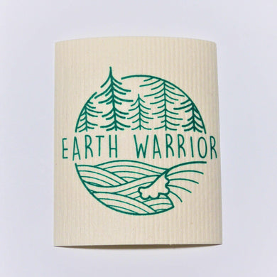 Earth Warrior Swedish Dishcloth