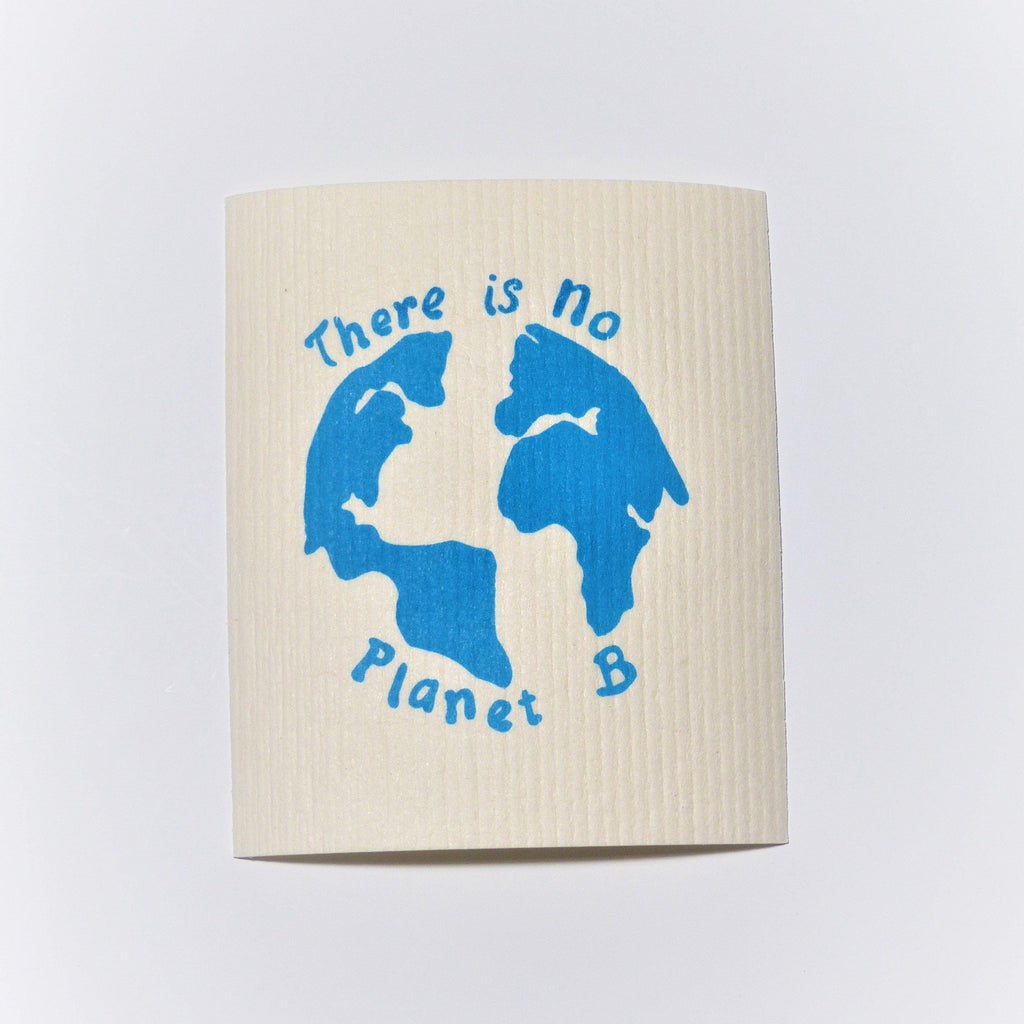 Swedish Dishcloth - There is no Planet B - Earth Warrior Lifestyle