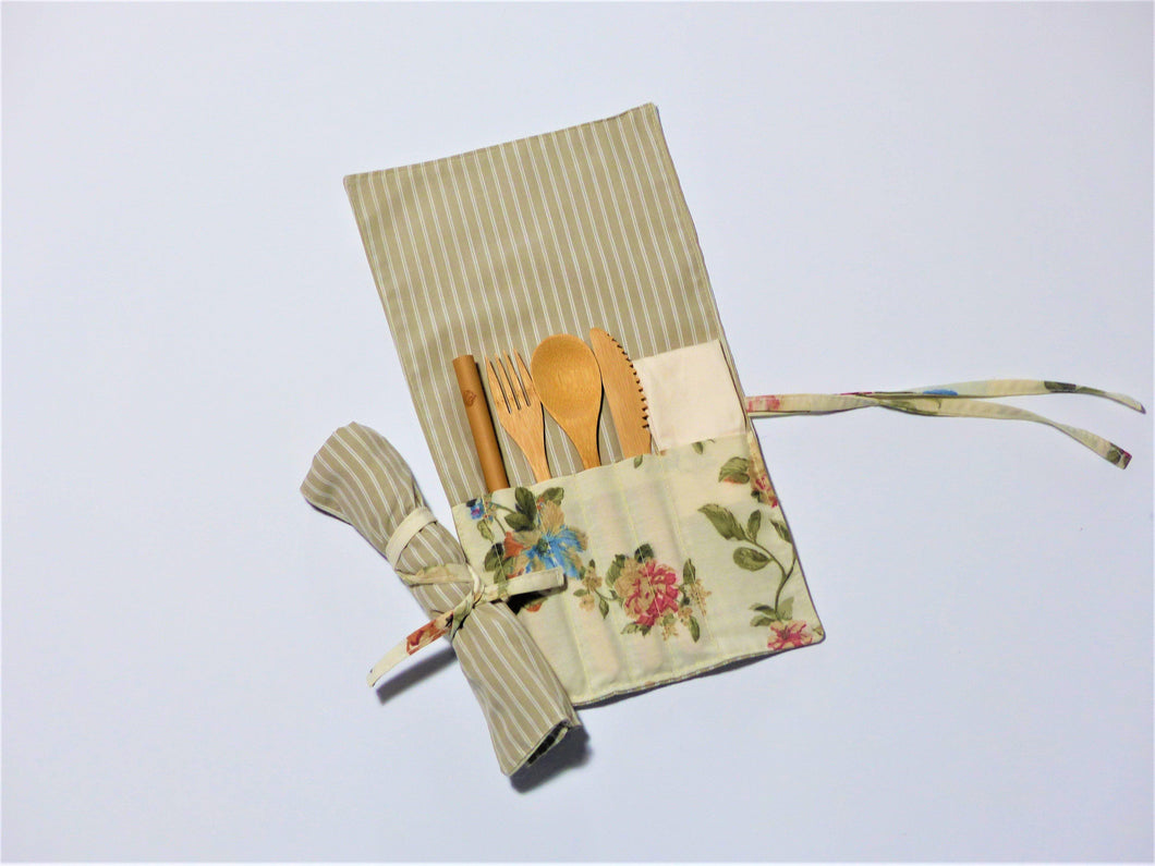 Emily Roll up cutlery Kit
