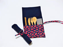 Load image into Gallery viewer, Cutlery Kit - Roll Up - Taste of Italy