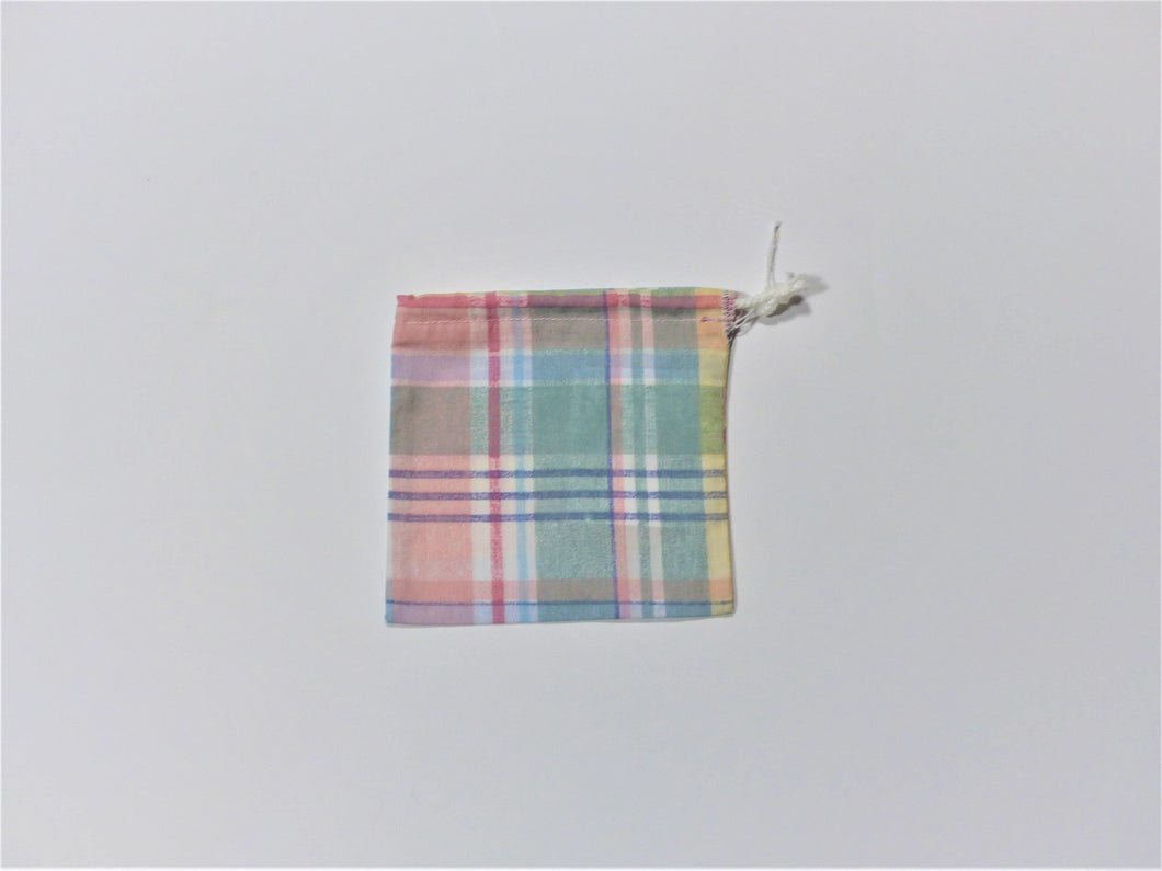 Bulk Bag - Small - pastel Plaid