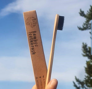 Bamboo Toothbrush -single
