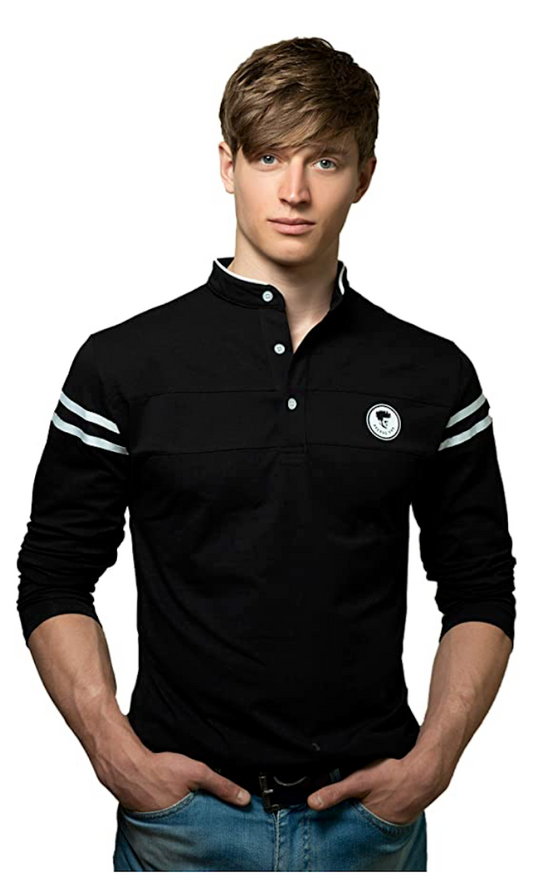 FASHION POLO SLIM FIT T-SHIRT