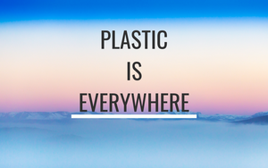 How plastic ends up in the food we eat, the water we drink and even the air we breathe