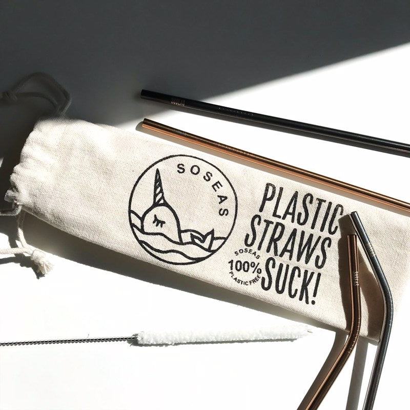 soseas reusable straws
