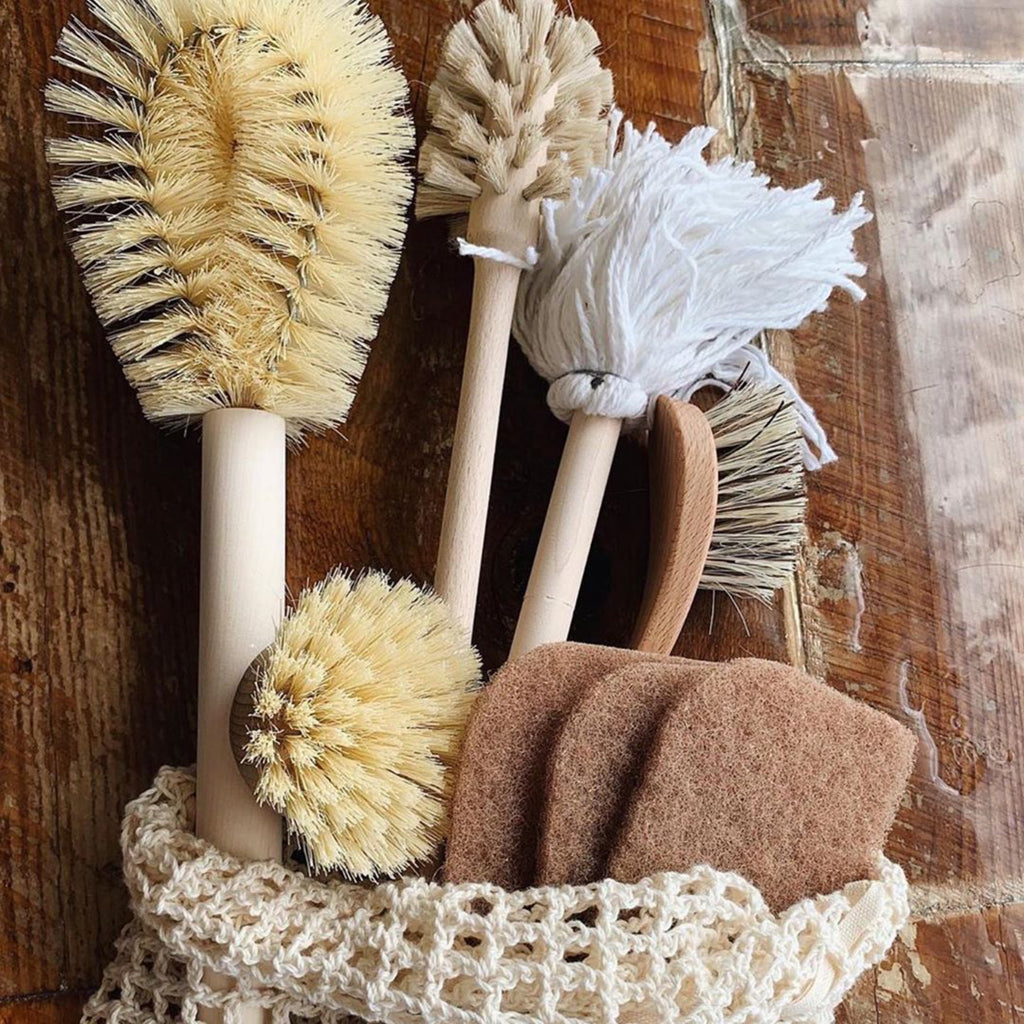 plant based dish scrubber