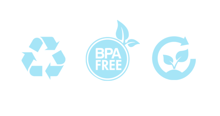 recyclable bpa free biodegradable